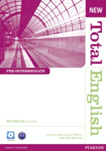 New Total English Pre-Intermediate Workbook with Key and Audio CD Pack, Mixed media product Book