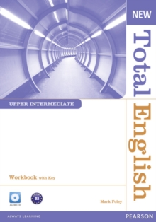New Total English Upper Intermediate Workbook with Key and Audio CD Pack, Mixed media product Book