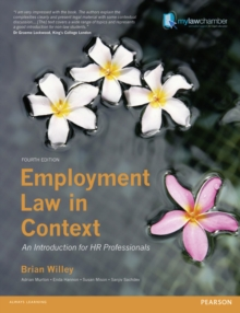 Employment Law in Context : An Introduction for HR Professionals, Paperback / softback Book