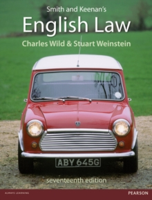 Smith and Keenan's English Law, Paperback Book