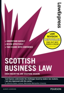 Law Express: Scottish Business Law (Revision guide), Paperback / softback Book