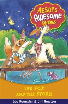 Aesop's Awesome Rhymes: The Fox and the Stork : Book 4, Paperback Book
