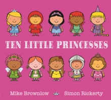 Ten Little Princesses, Paperback / softback Book