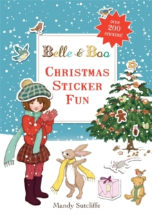 Belle & Boo: Christmas Sticker Fun, Paperback / softback Book