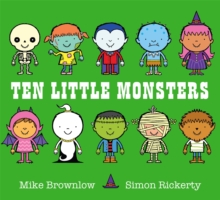 Ten Little Monsters, Paperback / softback Book