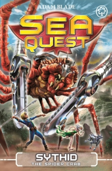 Sea Quest: Sythid the Spider Crab : Book 17, Paperback Book