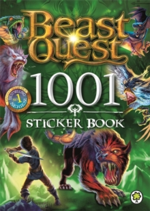Beast Quest: 1001 Sticker Book, Paperback Book