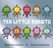 Ten Little Robots, Paperback Book