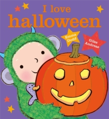 I Love Halloween, Hardback Book