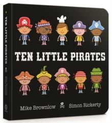 Ten Little Pirates Board Book, Board book Book
