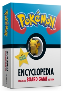The Official Pokemon Encyclopedia Special Edition : With Exclusive Board Game and Figurine, Hardback Book