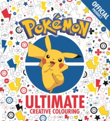 The Official Pokemon Ultimate Creative Colouring, Paperback Book