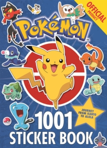 The Official Pokemon 1001 Sticker Book, Paperback Book