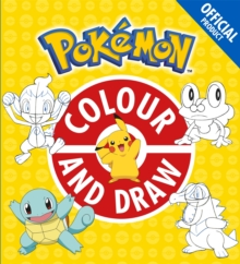 The Official Pokemon Colour and Draw, Paperback Book
