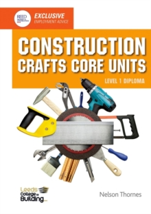 Construction Crafts Core Units Level 1 Diploma, Paperback / softback Book