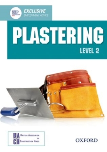 Plastering Level 2 Diploma Student Book, Paperback Book