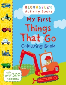 My First Things That Go Colouring Book, Paperback / softback Book