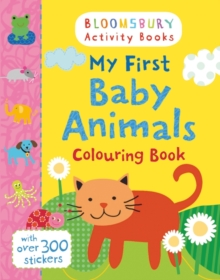 My First Baby Animals Colouring Book, Paperback Book