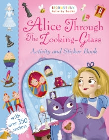 Alice Through the Looking Glass Activity and Sticker Book, Paperback Book