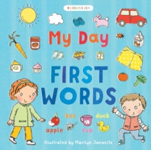 My Day: First Words, Hardback Book