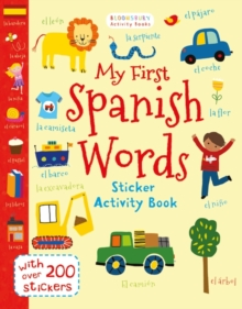 My First Spanish Words, Paperback Book