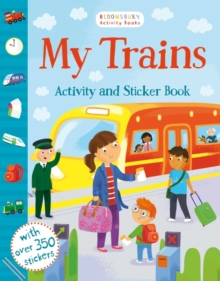 My Trains Activity and Sticker Book, Paperback Book