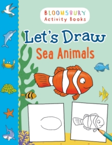 Let's Draw Sea Animals, Paperback Book