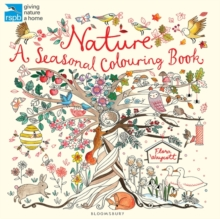 RSPB Nature: A Seasonal Colouring Book, Paperback Book