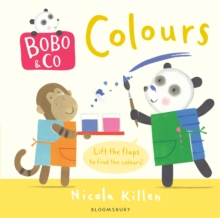Bobo & Co. Colours, Board book Book