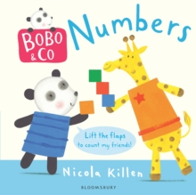 Bobo & Co. Numbers, Board book Book