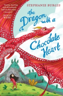 The Dragon with a Chocolate Heart, Paperback Book