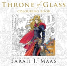 The Throne of Glass Colouring Book, Paperback Book