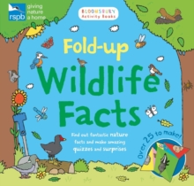 RSPB: Fold-up Wildlife Facts, Paperback / softback Book