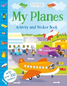 My Planes Activity and Sticker Book, Paperback Book