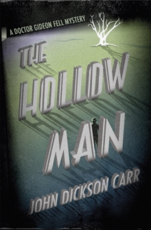 The Hollow Man, Paperback / softback Book