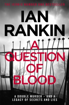 A Question of Blood, Paperback Book