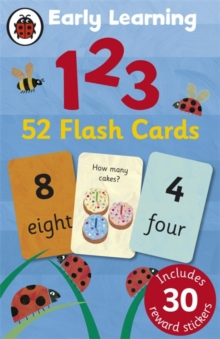 Ladybird Early Learning: 123 Flash Cards, Cards Book
