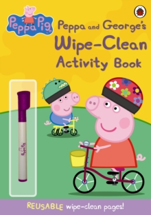Peppa Pig: Peppa and George's Wipe-clean Activity Book, Paperback Book