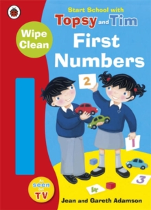 Start School with Topsy and Tim: Wipe Clean First Numbers, Paperback Book
