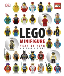 LEGO (R) Minifigure Year by Year A Visual History : With 3 Minifigures, Hardback Book