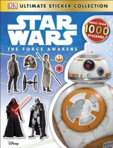 Star Wars The Force Awakens Ultimate Sticker Collection, Paperback Book