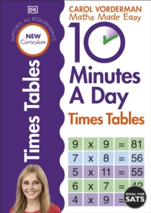 10 Minutes A Day Times Tables, Paperback / softback Book