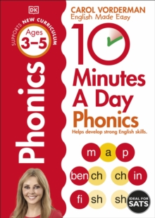 10 Minutes A Day Phonics KS1, Paperback Book