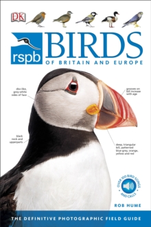 RSPB Birds of Britain and Europe, Paperback Book
