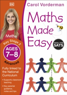 Maths Made Easy Ages 7-8 Key Stage 2 Advanced, Paperback Book