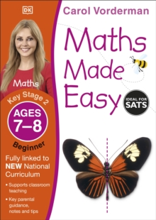 Maths Made Easy Ages 7-8 Key Stage 2 Beginner, Paperback / softback Book