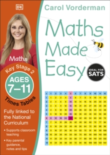 Maths Made Easy Times Tables Ages 7-11 Key Stage 2, Paperback / softback Book