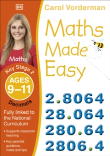 Maths Made Easy Decimals Ages 9-11 Key Stage 2, Paperback / softback Book