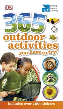 RSPB 365 Outdoor Activities You Have to Try, Paperback Book
