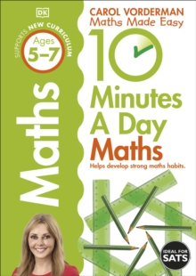 10 Minutes a Day Maths Ages 5-7 Key Stage 1, Paperback / softback Book